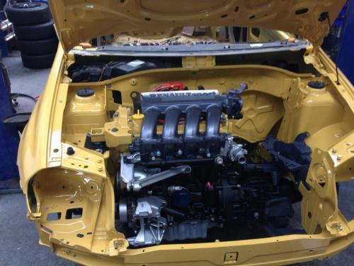 Renault track car build