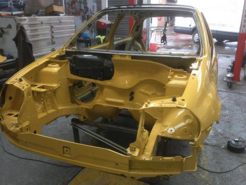 car track build